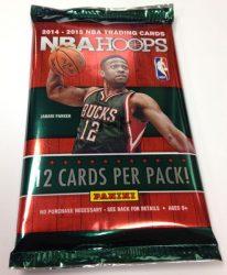 2014-15 Panini Hoops Basketball Hobby kosaras kártya csomag