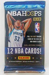 2015-16 Panini Hoops Basketball Hobby kosaras kártya csomag