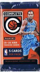 2015-16 Panini Complete kosaras kártya csomag