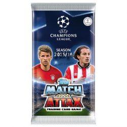 2015-16 Match Attax - UEFA Champions League focis kártya csomag