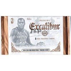 2014-15 Panini Excalibur Basketball Retail / alap kosaras kártya csomag