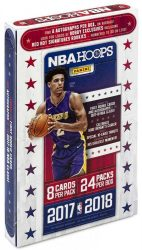 2017-18 Panini Hoops Basketball Hobby kosaras kártya doboz - 2 aláírt / doboz!