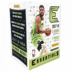 2017-18 Panini Essentials Basketball kosaras kártya blaster doboz