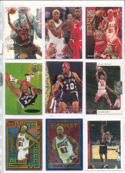 Dennis Rodman kosaras kártya pack 6 - 9 db kártya