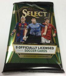 2016-17 Panini Select Soccer Hobby focis kártya csomag