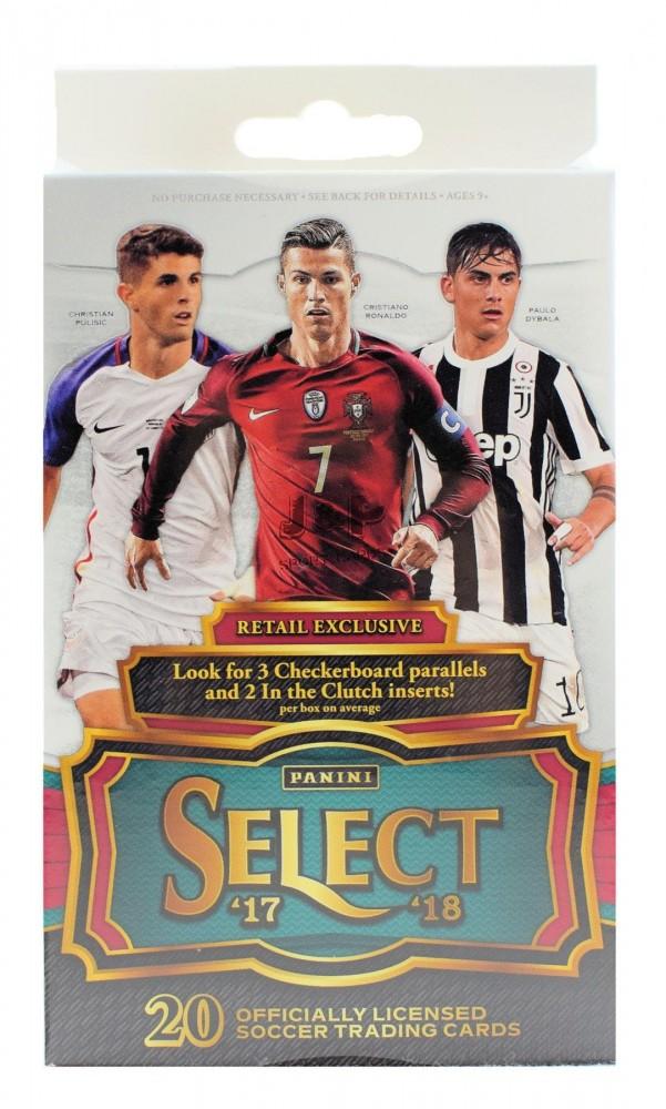 2017-18 Panini Select Soccer Retail   Hanger focis kártya doboz ... c2a9574718