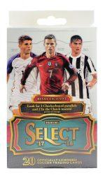 2017-18 Panini Select Soccer Retail / Hanger focis kártya doboz