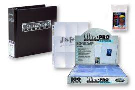 Ultra Pro kártya tartó alap csomag  - fekete