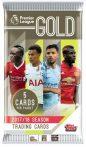 2017-18 Topps Premier League Gold Soccer Hobby focis kártya csomag