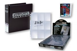Ultra Pro kártya tartó platinum csomag  - fekete