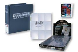 Ultra Pro kártya tartó platinum csomag  - kék