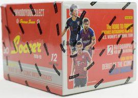 2018-19 Panini Donruss Soccer hobby focis kártya doboz - 2 db aláírt dobozonként