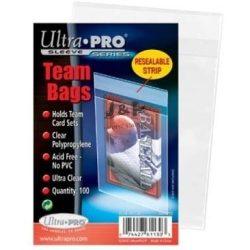 """Ultra Pro Vékony tok Team Bags visszazárható """"bugyi"""" Csomag (100db / csomag)"""