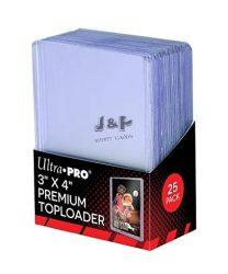 """Ultra Pro kemény tok toploader 3"""" x 4"""" Super Clear Premium színtelen - doboz (25 db)"""