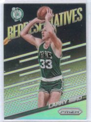 2014-15 Panini Prizm Representatives #17 Larry Bird