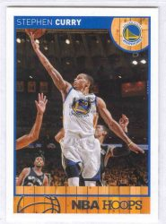 2013-14 Hoops #124 Stephen Curry