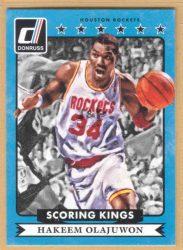 2014-15 Donruss Scoring Kings #26 Hakeem Olajuwon
