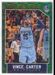 2015-16 Hoops Green #220 Vince Carter