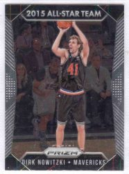 2015-16 Panini Prizm #371 Dirk Nowitzki AS ALL-STAR TEAM