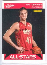 2012-13 Absolute Panini All-Stars #6 Dirk Nowitzki