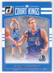 2016-17 Donruss Court Kings #4 Dirk Nowitzki