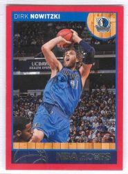 2013-14 Hoops Red #115 Dirk Nowitzki