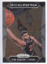 2015-16 Panini Prizm #367 Tim Duncan AS All Star