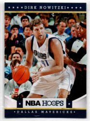 2012-13 Hoops #37 Dirk Nowitzki