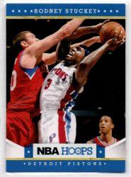 2012-13 Hoops #89 Rodney Stuckey