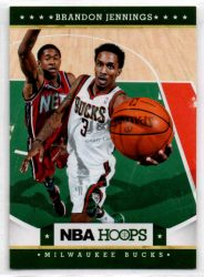 2012-13 Hoops #101 Brandon Jennings