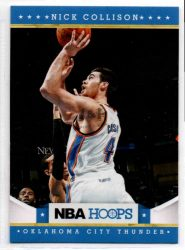2012-13 Hoops #139 Nick Collison