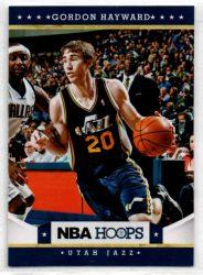 2012-13 Hoops #143 Gordon Hayward