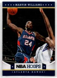 2012-13 Hoops #153 Marvin Williams