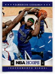 2012-13 Hoops #212 DeMarcus Cousins