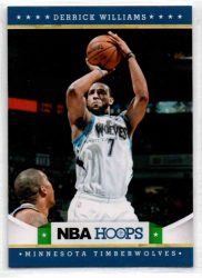2012-13 Hoops #224 Derrick Williams RC