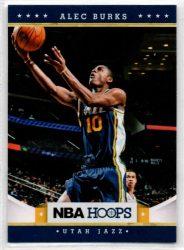 2012-13 Hoops #233 Alec Burks RC