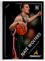 2013-14 Pinnacle #44 Nate Wolters RC