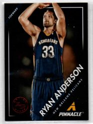 2013-14 Pinnacle Artist's Proofs Red #237 Ryan Anderson
