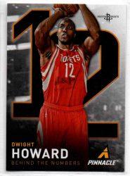 2013-14 Pinnacle Behind the Numbers #12 Dwight Howard