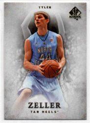 2012-13 SP Authentic #25 Tyler Zeller