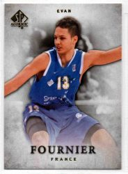 2012-13 SP Authentic #27 Evan Fournier