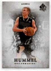 2012-13 SP Authentic #42 Robbie Hummel