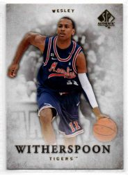 2012-13 SP Authentic #46 Wesley Witherspoon