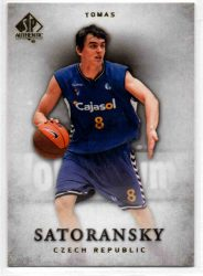 2012-13 SP Authentic #48 Tomas Satoransky