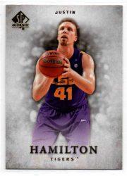 2012-13 SP Authentic #49 Justin Hamilton