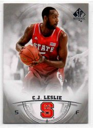 2013-14 SP Authentic #42 C.J. Leslie