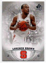 2013-14 SP Authentic #43 Lorenzo Brown