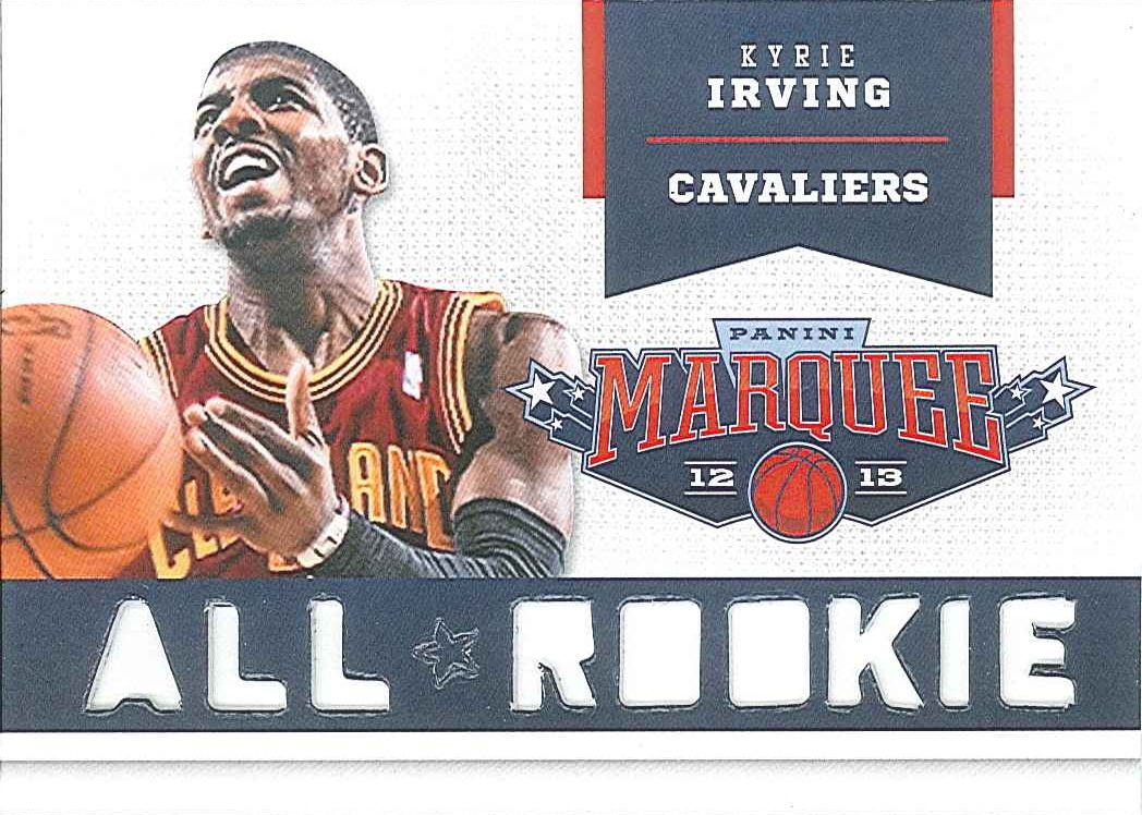 All-Rookie Team #4 Kyrie Irving front $15
