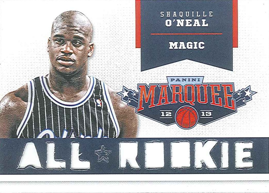 All-Rookie Team #7 Shaquille O\'Neal front $5