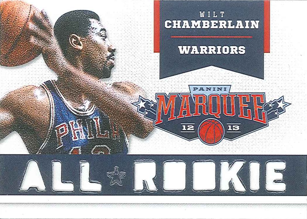 All-Rookie Team #3 Wilt Chamberlain front $5